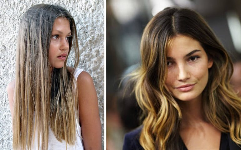 Калифорнийское мелирование волос: техника (фото)