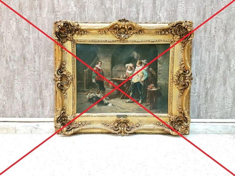 Дарить ли картины молодоженам