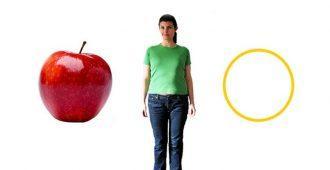 Диета для фигуры яблоко