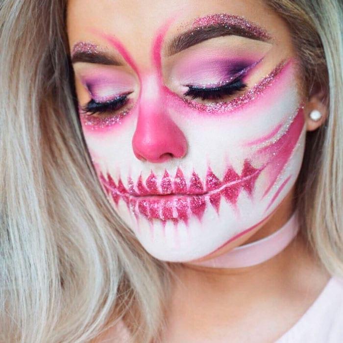 Аквагримм - идеи макияжа на хэллоуин