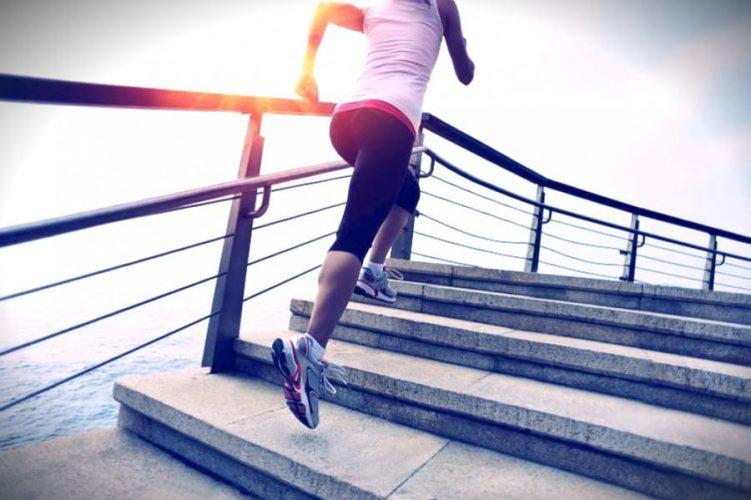 Ходьба по лестнице в темпе