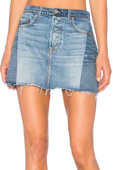 Топ-10 самых модных мини-юбок из денима!