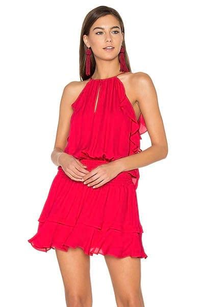 Маленькое красное платье: топ 10 лучших моделей