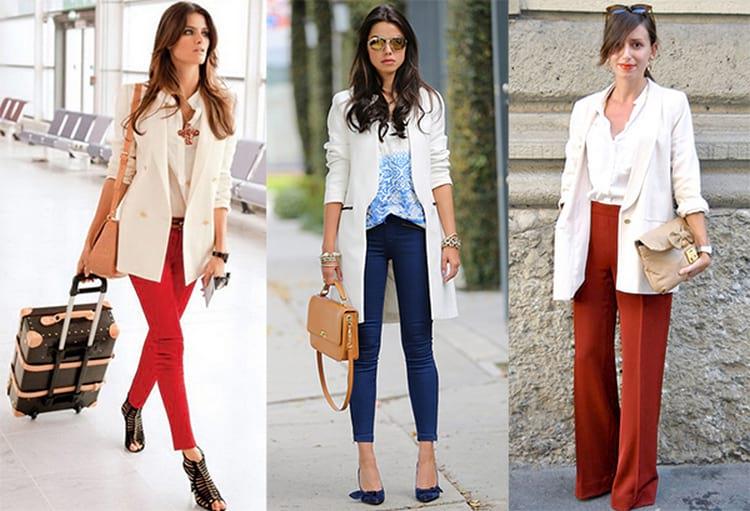 Образы с длинным пиджаком