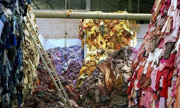 Вторичная переработка одежды