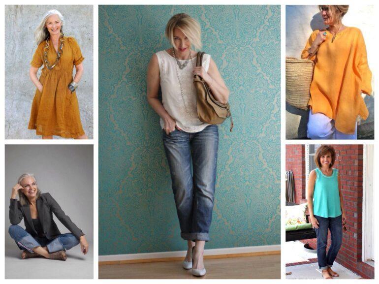 летний гардероб женщины после 50