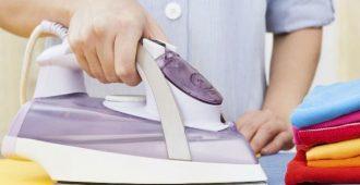 как очистить подошву утюга от нагара