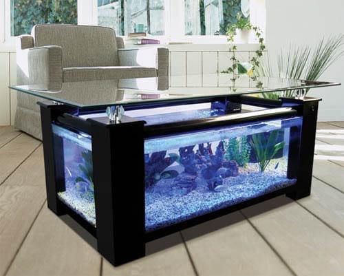 Стол-аквариум своими руками