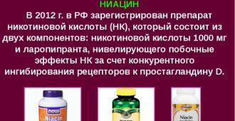 Никотиновая кислота растворяет жиры и насыщает кожу