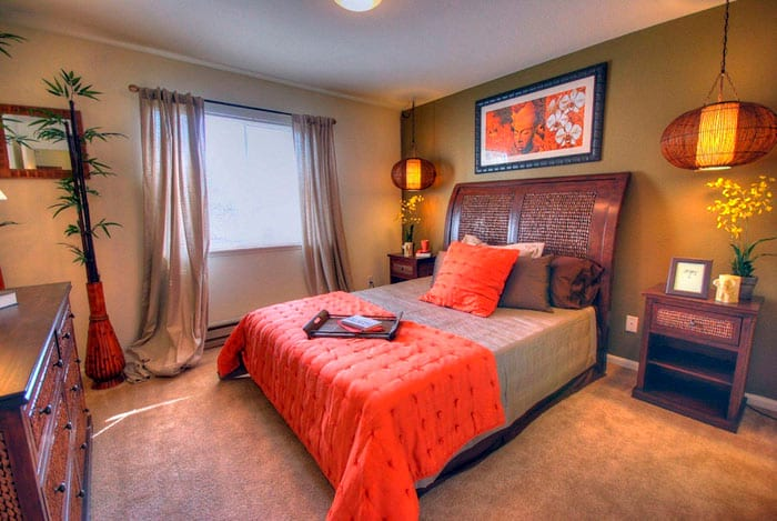 Расстановка мебели по фен шуй в спальне советы