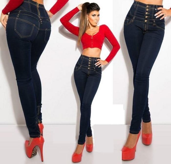 моделирующие джинсы