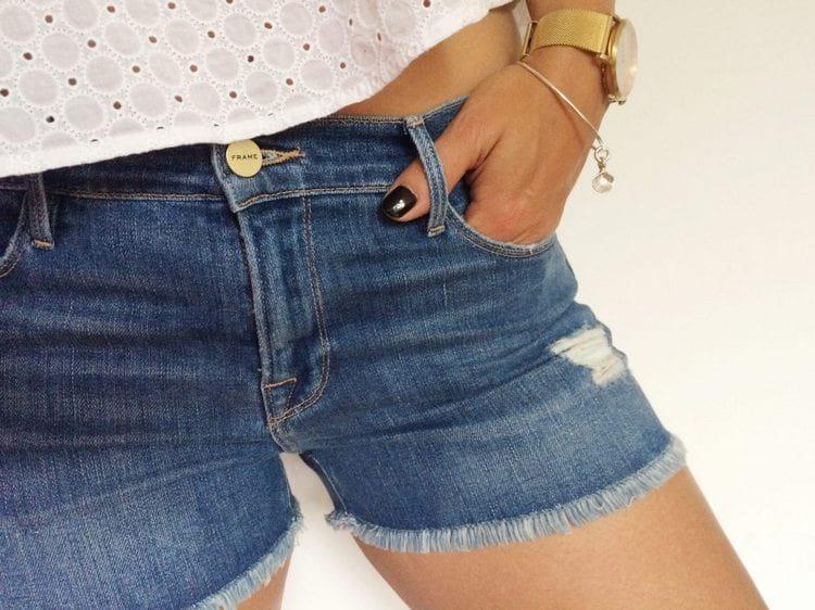 Как сделать шорты из джинсов своими руками