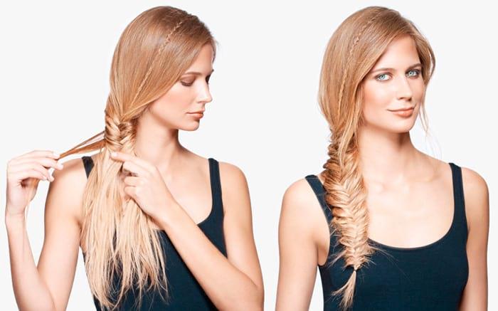 Косы из тонких волос