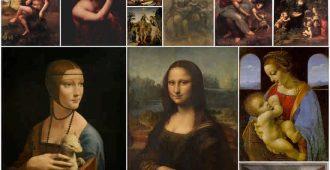 Топ-10 лучших работ Леонардо да Винчи
