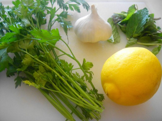 Лимон с петрушкой и чесноком - Как сделать обезболивающее в домашних условиях