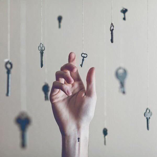 попытка поймать ключик