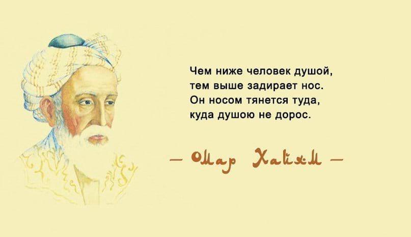 цитаты омар хайяма