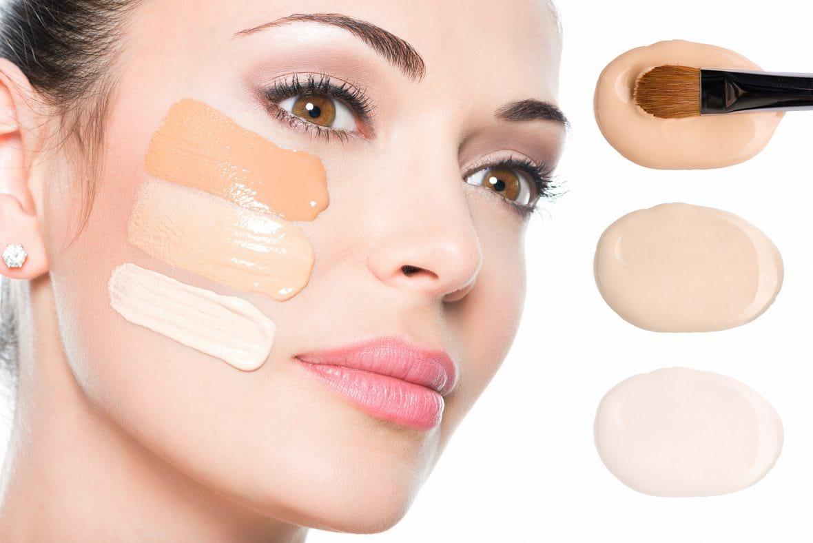 Как подобрать подходящий оттенок тонального крема для лица