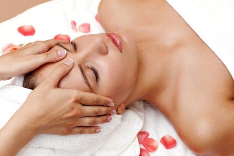 массаж переносицы
