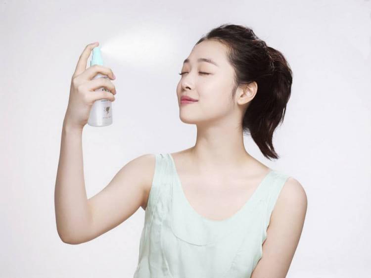 Спрей для увлажнения кожи лица