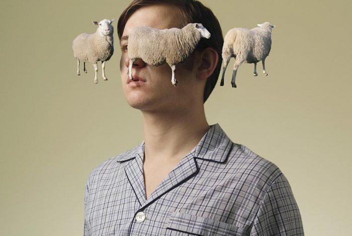 парень и летающие овечки