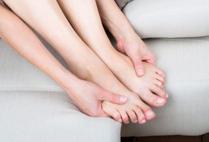 Онемение в пальцах ног
