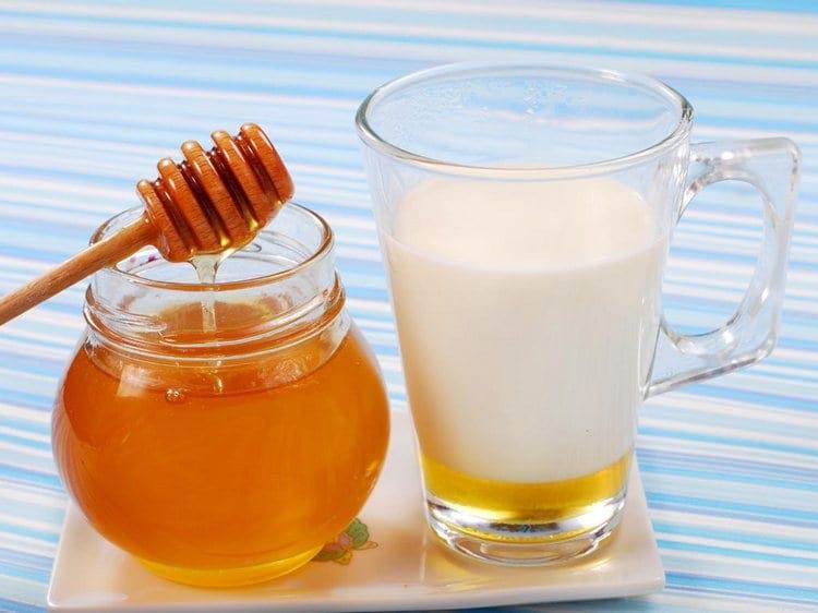 Молокочай с медом