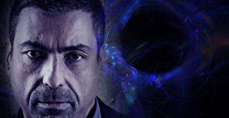 Астролог Павел на синем фоне
