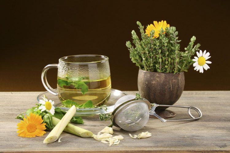 Травяные отвары отлично успокаивают нервную систему
