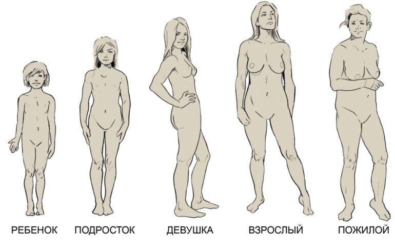 Как меняется тело женщины с возрастом