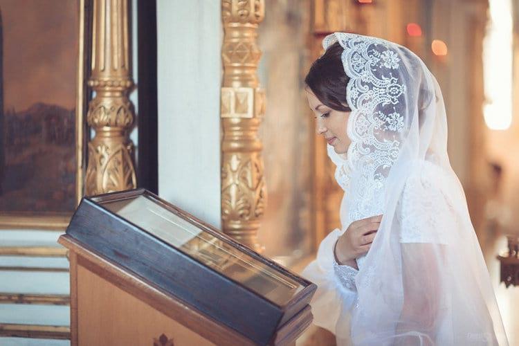Венчальная накидка для невесты