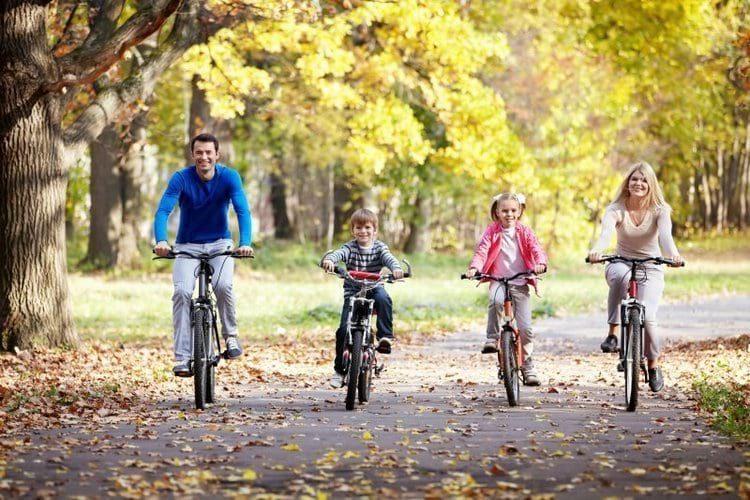Велопрогулки от сонливости