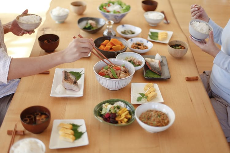 Японский рацион питания