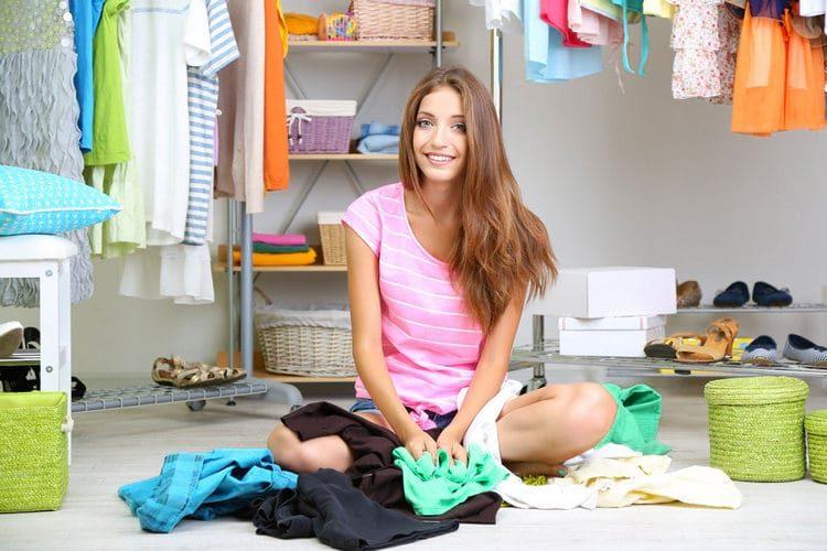 Сортируем одежду
