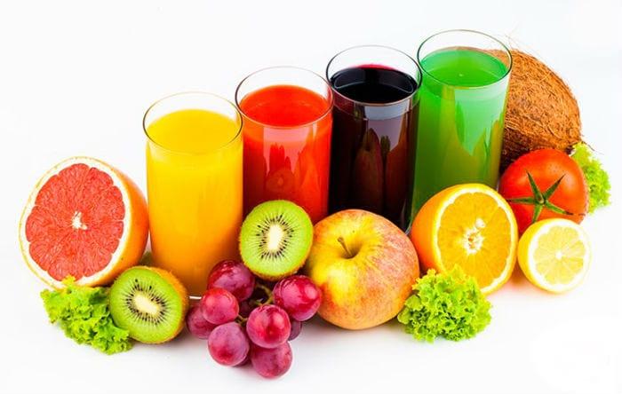 соки, содержащие лимонную кислоту