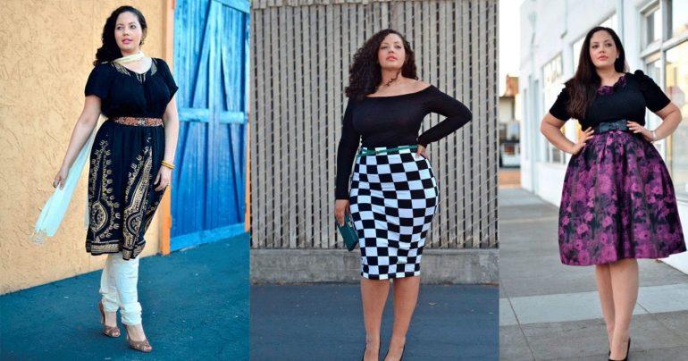 Мода весна - лето 2018 года: для полных женщин (фото)