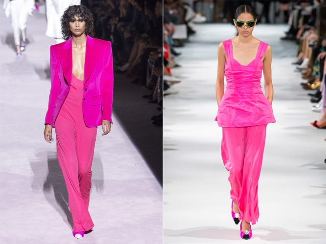 Модные оттенки розового цвета