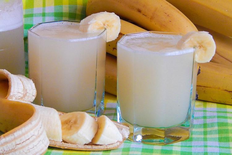 Квас из банановых шкурок
