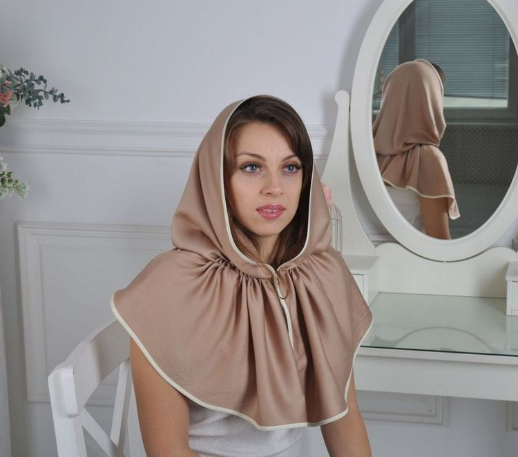 Специальный платок-капор