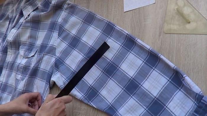 ушиваем пройму рукава