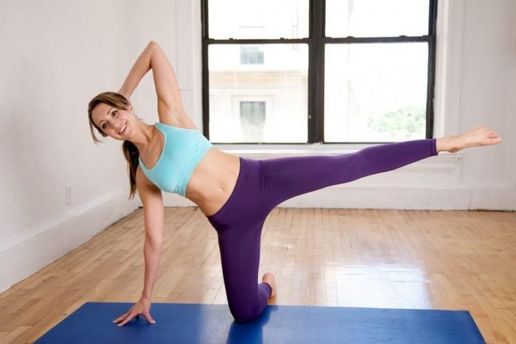 Гимнастика для похудения бедер