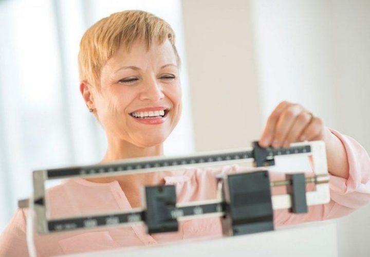Лишний вес при климаксе