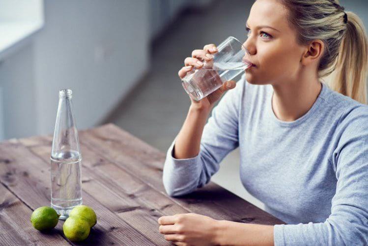 Достаточное употребление воды