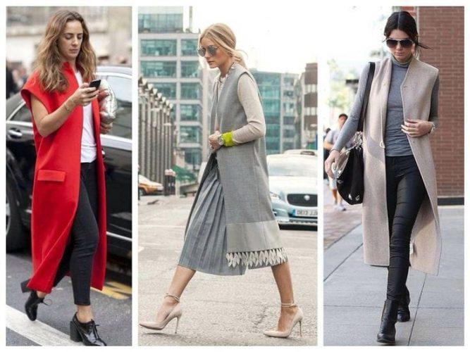 Модные жилетки 2018